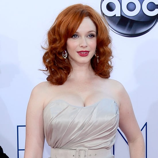 Picture of Christina Hendricks's Hair and Makeup at the 2012 Emmy Awards