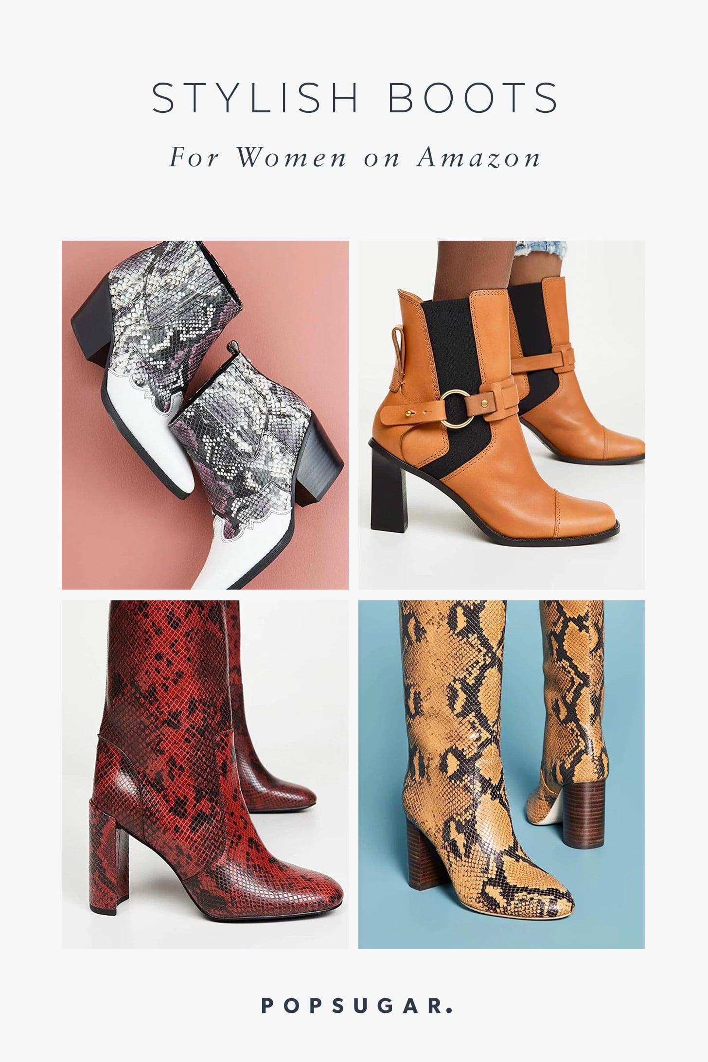 Stylish Boots For Women on Amazon