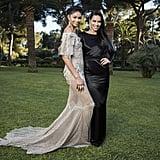 Chanel Iman and Adriana Lima