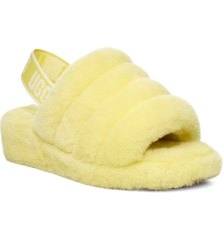 UGG Fluff Yeah Genuine Shearling Slippers