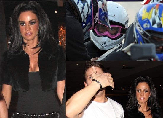 Photos of Katie Price and Alex Reid's Honeymoon on Dune Buggies and at Koi in Las Vegas