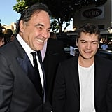 Oliver Stone and Emile Hirsch