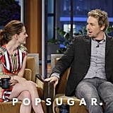 Kristen Stewart on The Tonight Show With Jay Leno Pictures