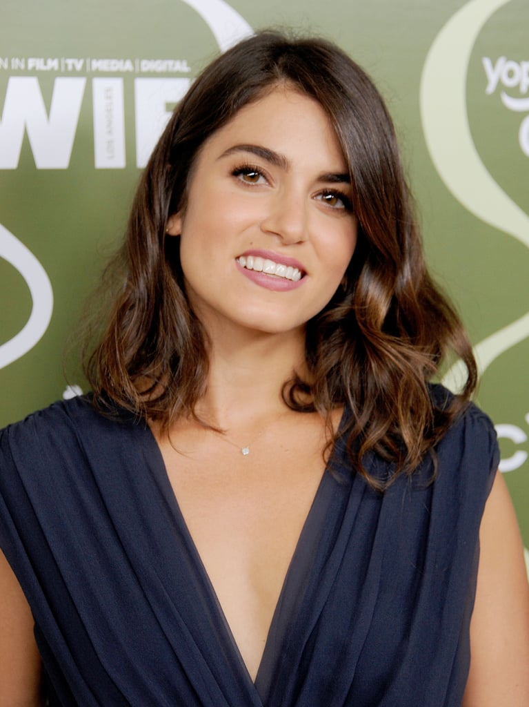 Nikki Reed's simple makeup and curled lob were part of the ideal laid-back look for the Variety pre-Emmy party.