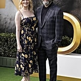Anna Lundberg and Michael Sheen at the Dolittle Premiere in LA