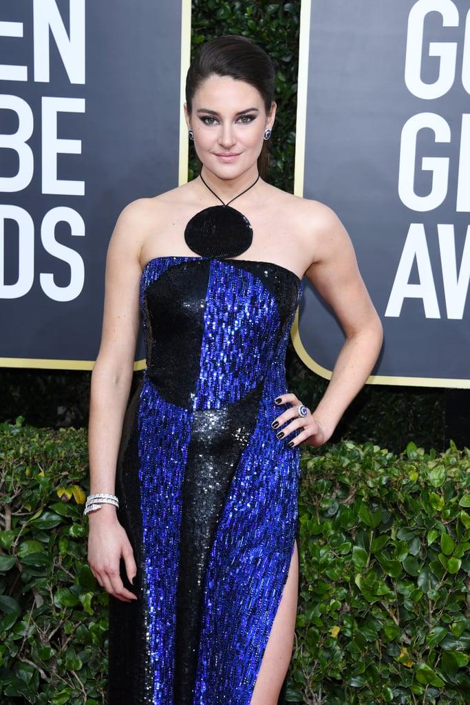 Shailene Woodley at the 2020 Golden Globes
