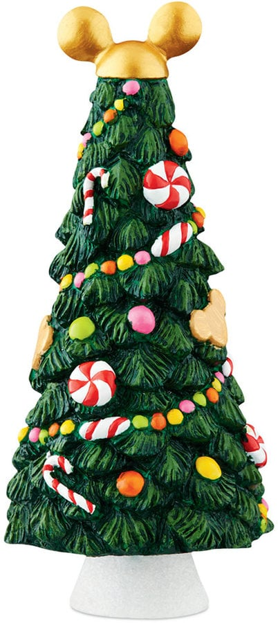 mickeys christmas village collection candy tree