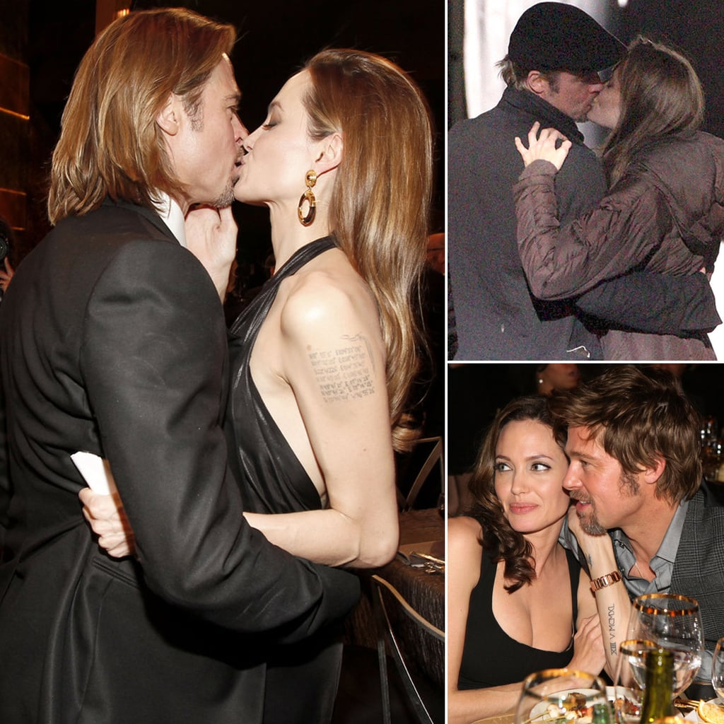 The Way They Were — 31 Times Brad Pitt and Angelina Jolie Showered Each Other With Love