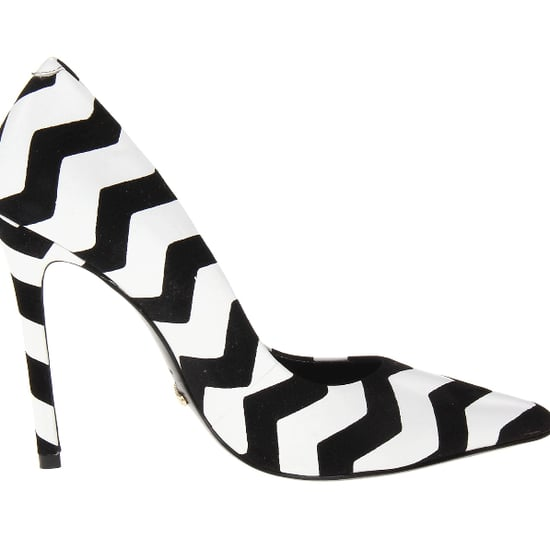 Schutz Gilberta Black White Zigzag Heels | Review