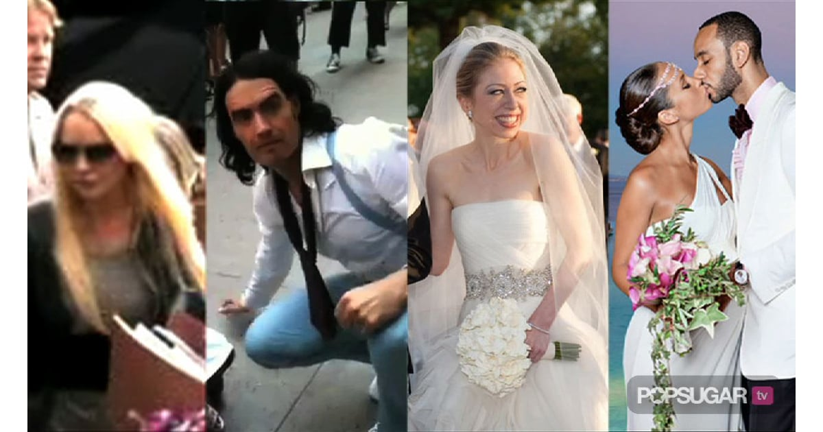 The Time Lindsay Lohan Spent in Jail, Video of Russell Brand Filming ...