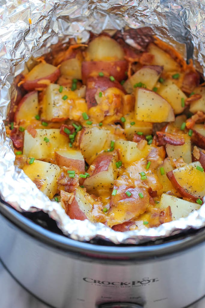Slow-Cooker Cheesy Bacon Ranch Potatoes