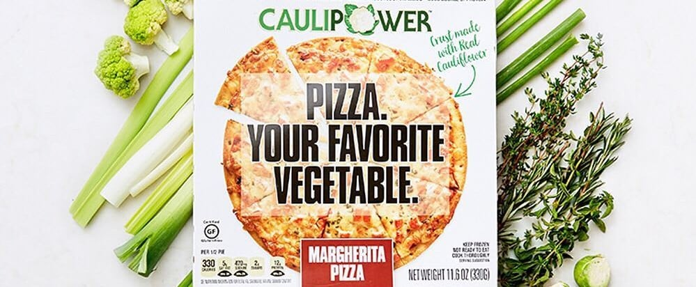 Halle Berry Cauliflower Pizza