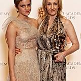 Emma Watson and JK Rowling, 2011