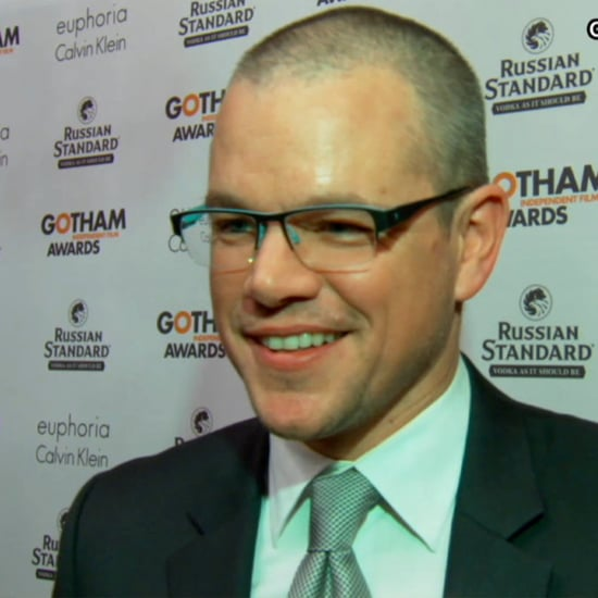 Matt Damon at Gotham Awards (Video)