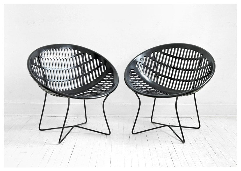 What I love most about these Vintage Solair Basket Chairs ($185 each) is their cool, contemporary shape and unique legs. They'll make a great gift for the design-lover in your life. 
