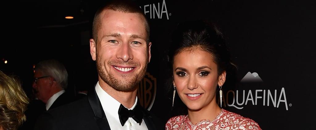 Nina Dobrev and Glen Powell Confirm Their Romance at Julianne Hough's Wedding