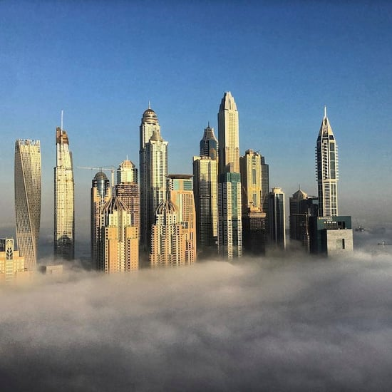 Dubai Covered in Fog Pictures | December 2016
