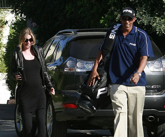 Photo of Pregnant Ellen Pompeo With Her Husband Chris Ivery