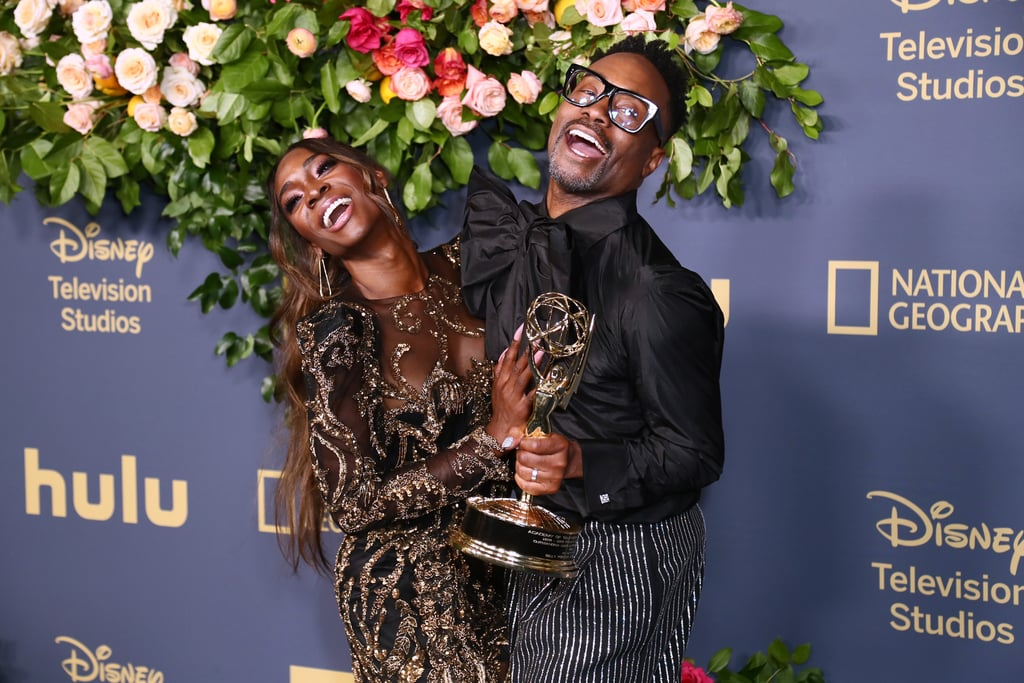 Angelica Ross and Billy Porter at the 2019 Emmys