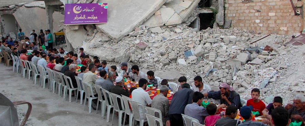 This Syrian Iftar Table Heartbreakingly Captures the True Spirit of Ramadan