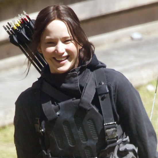 Jennifer Lawrence on the Hunger Games: Mockingjay Set