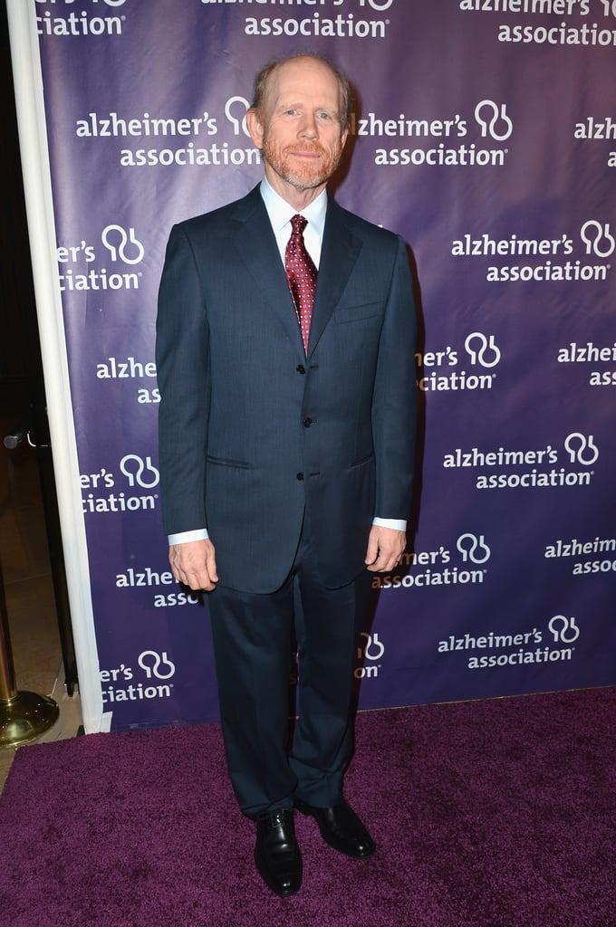 Ron Howard went for a simple suit.