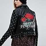 Pull&Bear Pull & Bear Star Studded Jacket
