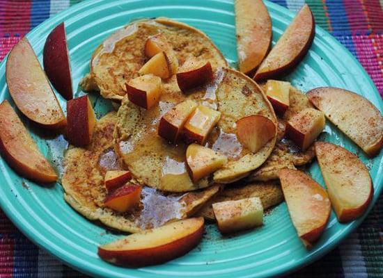 Butternut Squash Protein Pancakes
