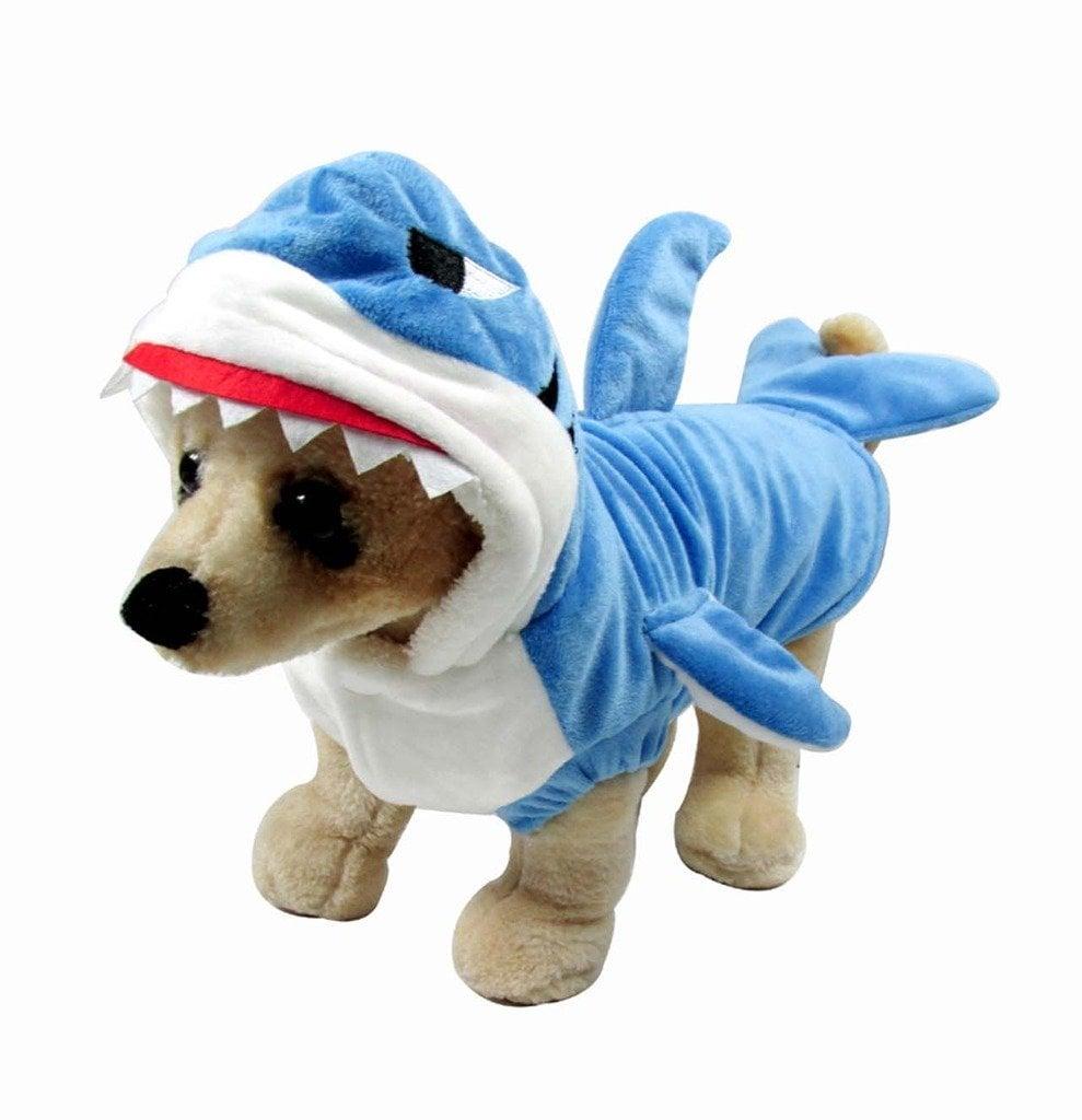 Blue Shark Pet Costume