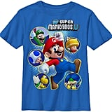Super Mario Bros. U Cast Tee