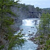 Little River Falls and Canyon, Alabama
