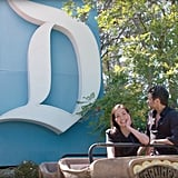 "Outside the music room, there's a giant ""D"" from a Disneyland sign, which John nabbed from eBay back in the day."