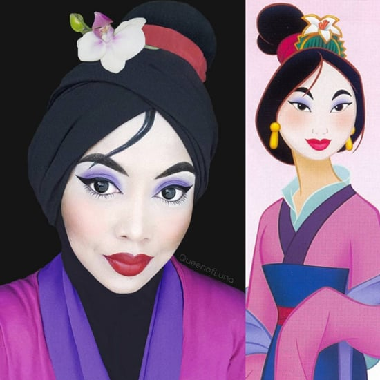 Cartoon-Inspired Makeup From Instagram