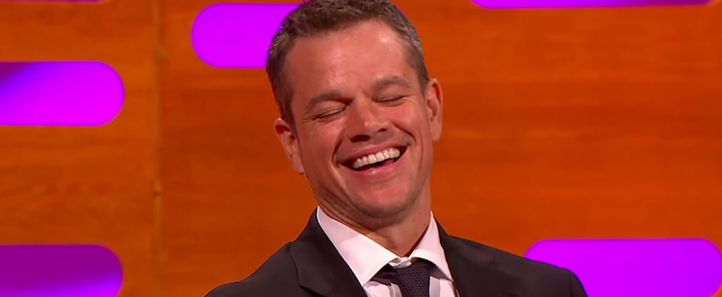 Matt Damon Spills the Big Secret Behind His Ponytail