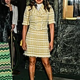 Priyanka Wore the Chanel Look to the Burn This Opening Night on Broadway in NYC