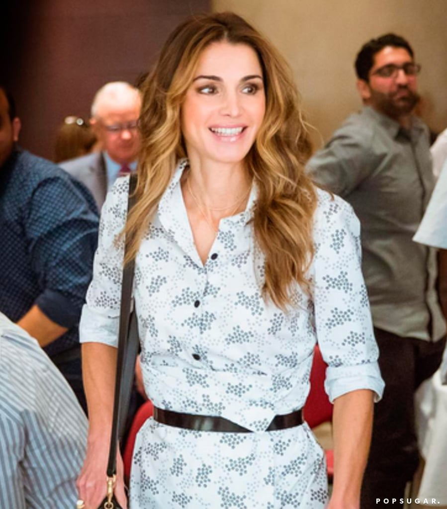 Queen Rania Basically Just Wore Her Beach Dress to the Office