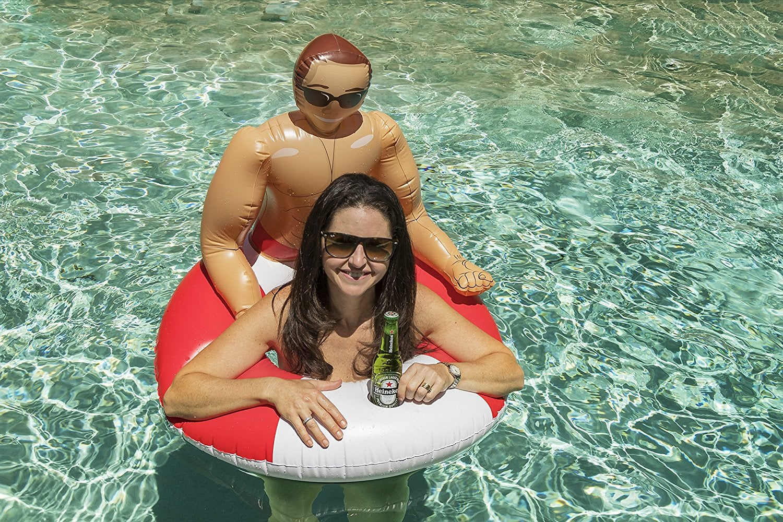 Inflatable Man Pool Float Popsugar Love Amp Sex