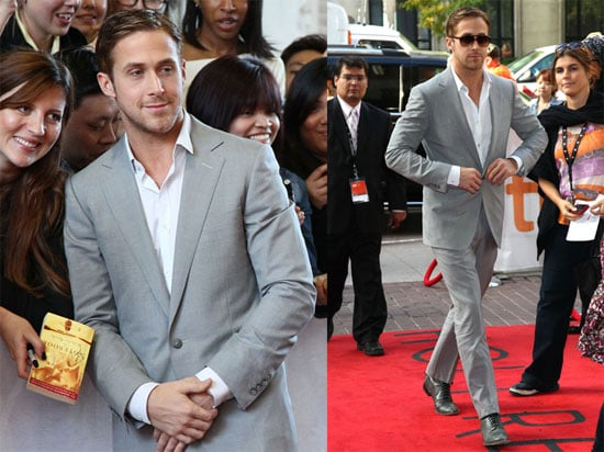 Pictures of Ryan Gosling at the Toronto Film Festival Promoting Blue Valentine