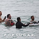 Charlie Hunnam and Ben Affleck Shirtless in Hawaii Pictures