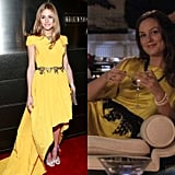 Add a Contrasting Belt to a Yellow Dress For a Playful and Fun Twist