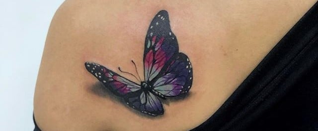 20 Reasons to Take Flight With 3D Butterfly Tattoos