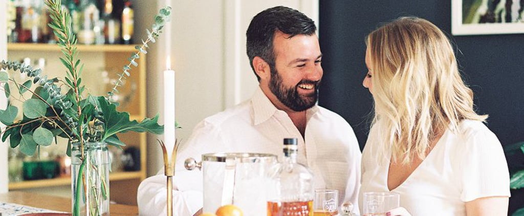 This Sweet At-Home Engagement Shoot Will Make You Completely Melt