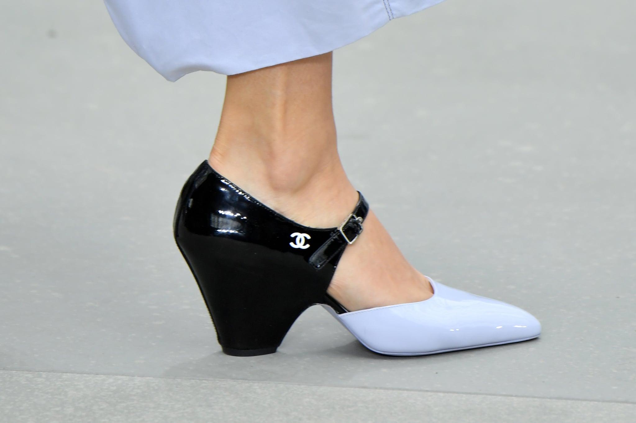 Midheel Shoes Had a Space-Age Heel