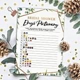 Bridal Emoji Printable Game