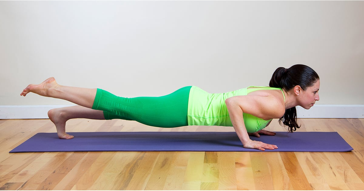 Muscle Burning Yoga Poses Popsugar Fitness