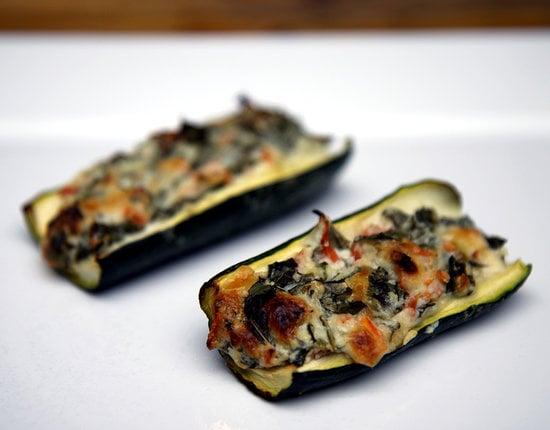 Creamy Zucchini Boats