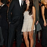 Channing Tatum kissed Jenna Dewan on the red carpet at the Japan premiere of G.I. Joe: The Rise of the Cobra in July 2009.