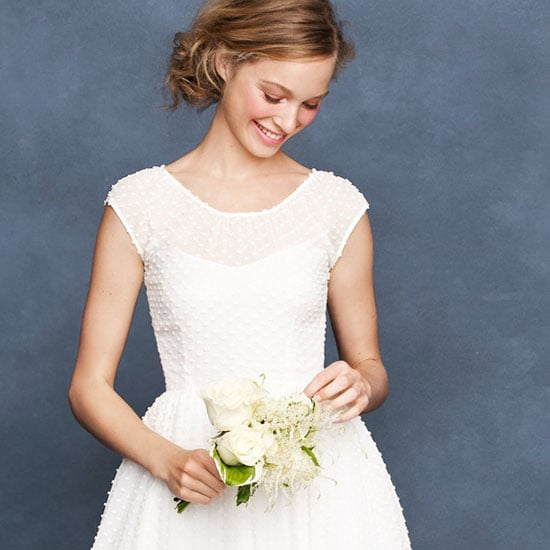 See J.Crew's Bridal Spring '13 Wedding Dress Collection