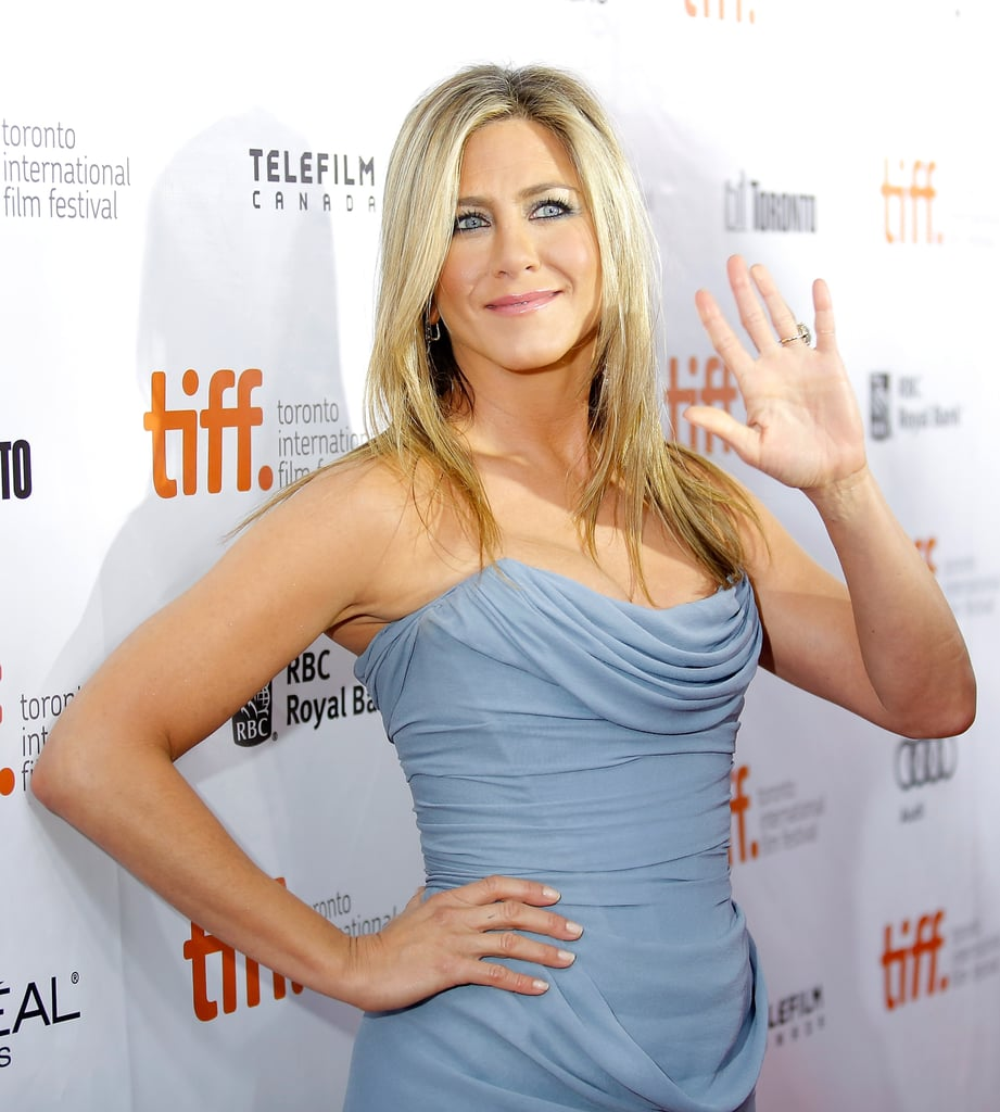 Jennifer Aniston hit the red carpet for the premiere of Life of Crime in Toronto.