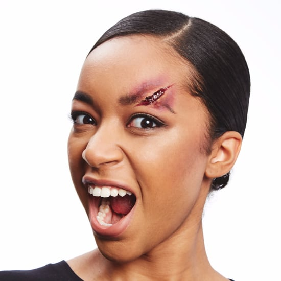 Woman Scares Boyfriend With Her Halloween Makeup